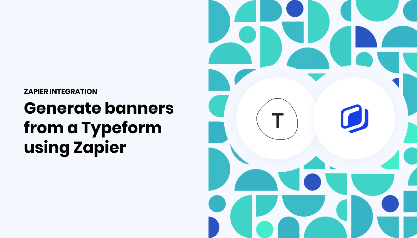 Automatically generate coupons  from Typeform entries with Zapier & Abyssale