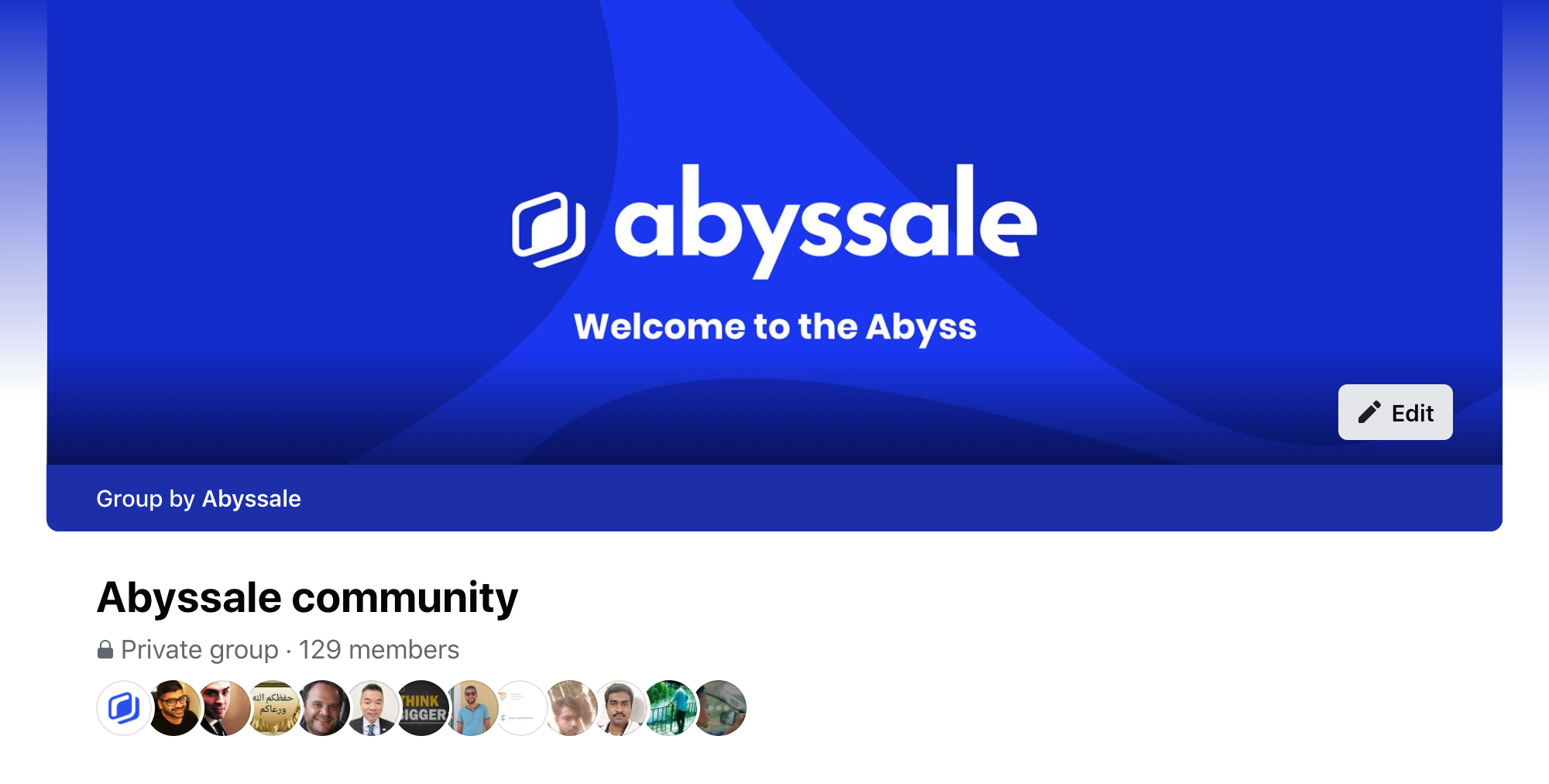Abyssale - Facebook community